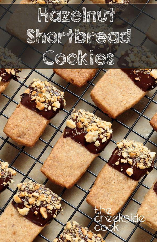 Hazelnut Shortbread Cookies Recipe Christmas