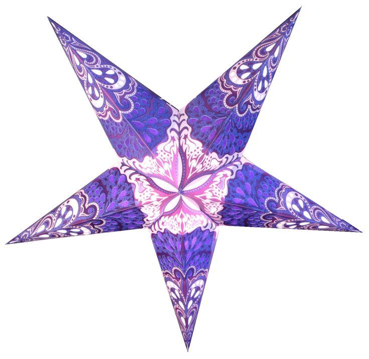Creative Paper Star Lanterns Inhabit Zone