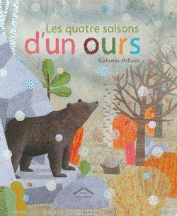 Les quatre saisons d'un ours - 9782878337259 - Circonflexe - couverture