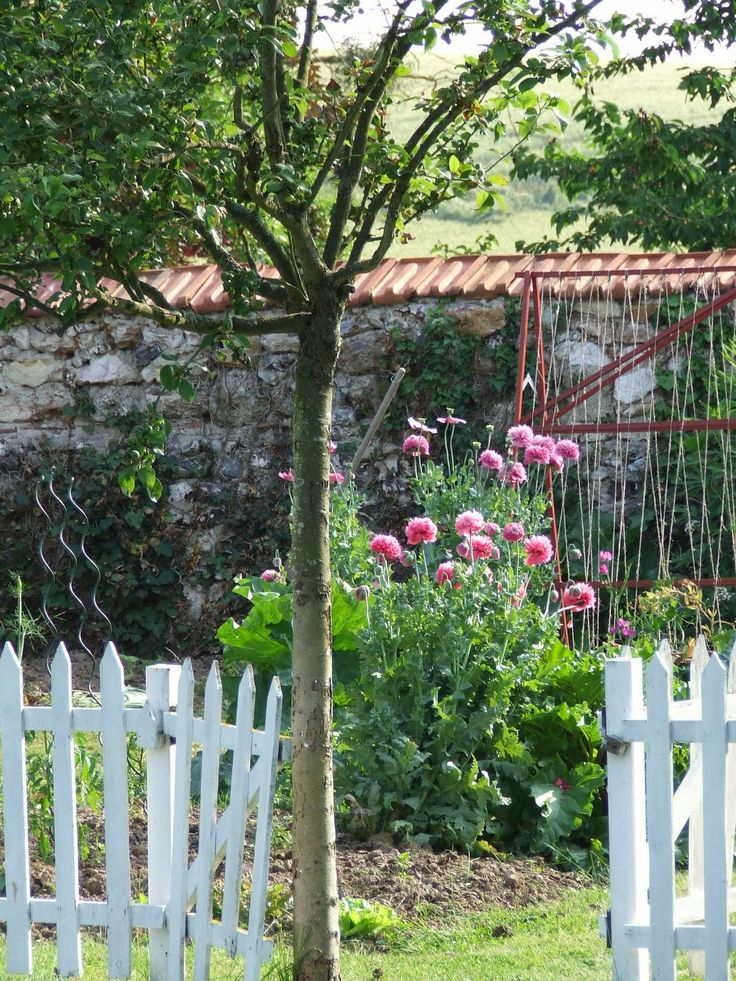 French Cottage Garden Design french cottage garden French Walled Garden