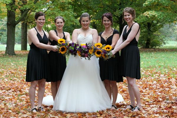 M + R's wedding held at Stanley's Olde Maple Farm on the Ottawa Wedding Magazine website!