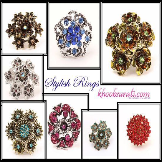 New arrivals- Rings that will charm you.........  Visit for Buy:- http://khoobsurati.com/jewellery/rings
