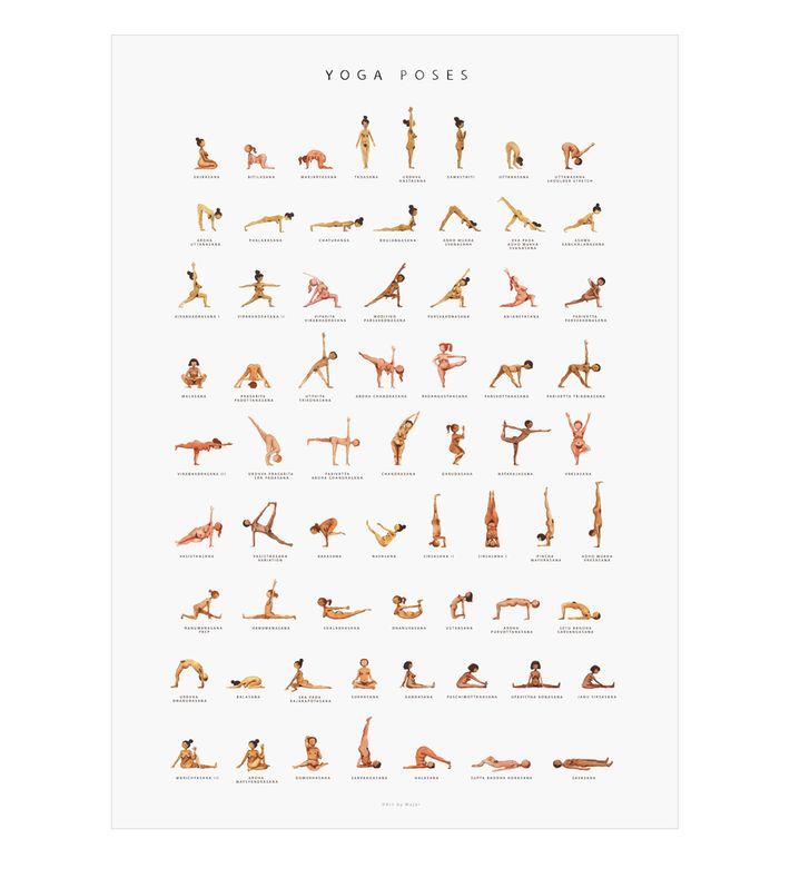Yoga Poses, Marie Jørgensen