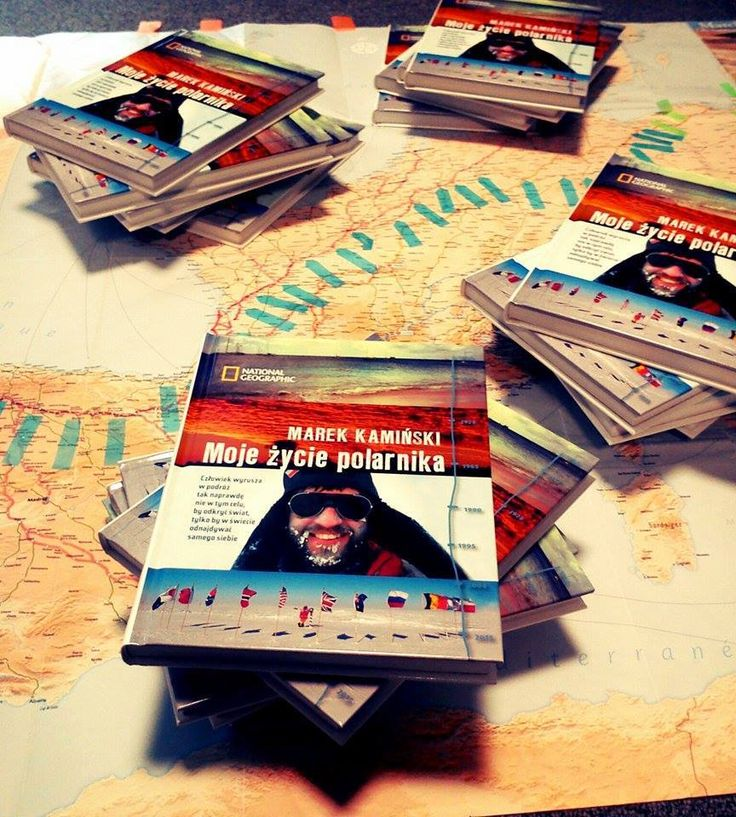 "The #book ""My Life as an Polar Explorer"" written by Marek Kamiński has been published."