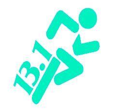 26.2 or 13.1  Marathon  Runner  Stick Figure by ElevateYourDecor, $4.00