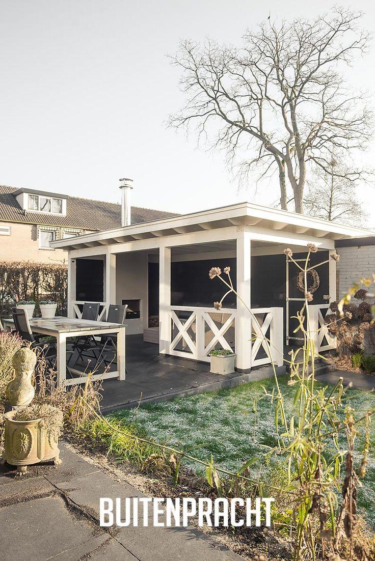 101 best veranda berging overkapping carport houten bijgebouwen images on pinterest - Prieel buiten ...