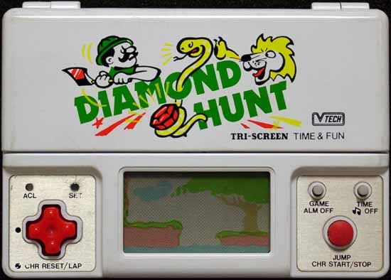 diamond hunt game