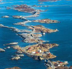 A estrada mais perigosa do mundo fica na Noruega e mais parece uma montanha…