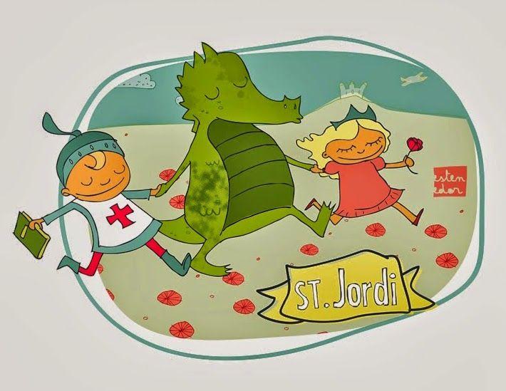 Com aprendre a aprendre: Activitats per a Sant Jordi Sant George activities - Actividades San Jorge - Diada Sant Jordi activitats