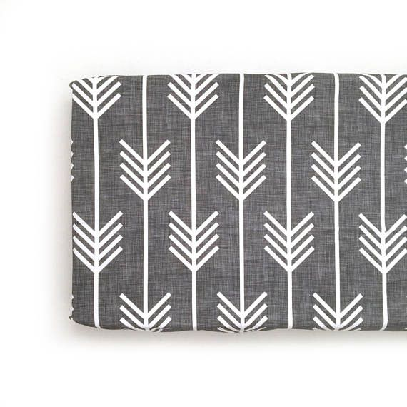 Changing Pad Cover Charcoal Arrows. Change Pad. Changing Pad.
