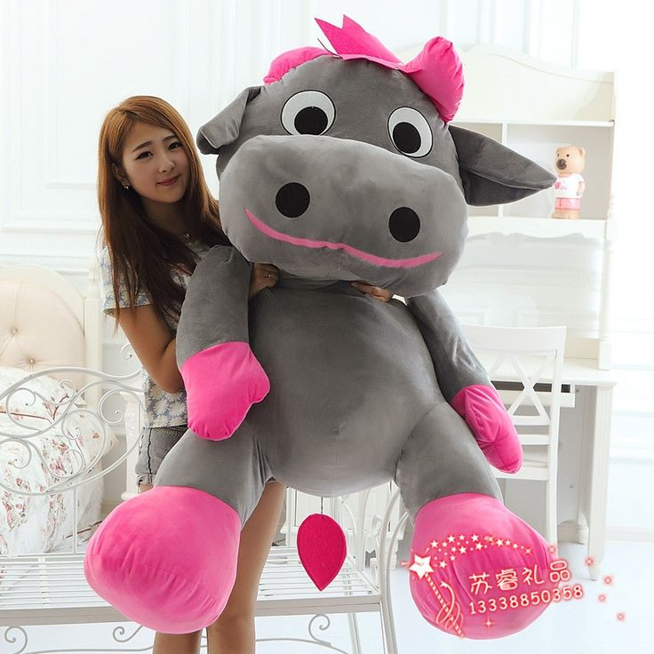 299.99$  Buy now - http://alipis.worldwells.pw/go.php?t=32757661085 - huge plush lovely cow toy big creative gray cow doll gift about 140cm 512 299.99$