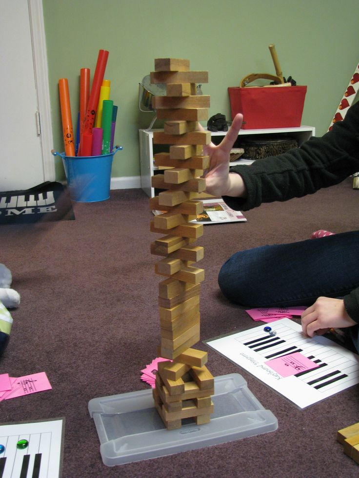 Intervals Tower - Review/Drill of Intervals for Intermediate Students