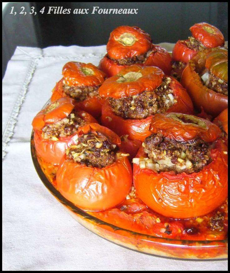"""Lorsque j'ai reçu le très beau livre de Sylvia Gabet """"On mange quoi ce soir ? Spécial green"""", j'ai tout de suite craqué sur cette recette.Le seul problème était que j'ai reçu ce livre cet hiver et ce n'était PAS DU TOUT la saison des tomates alors j'ai..."""
