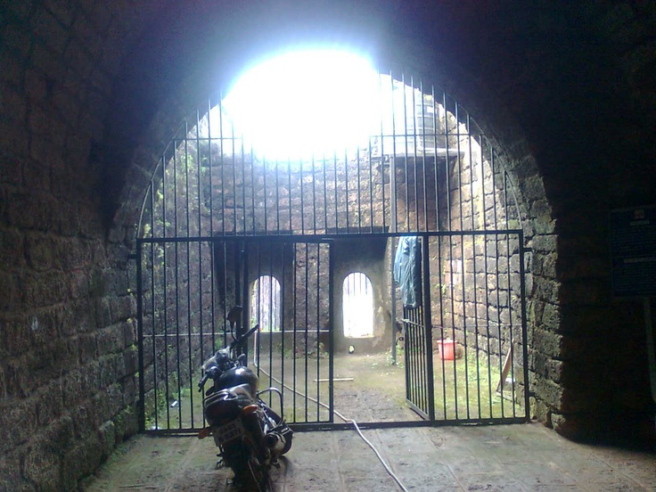 Jail in the Goa fort!!