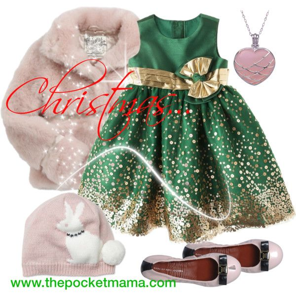 Christmas outfit for little girls