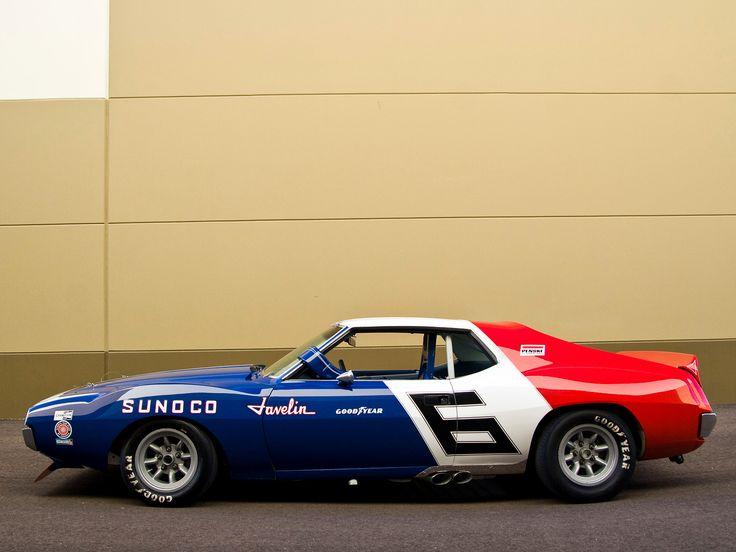 AMC Javelin Trans Am Race Car. Drool worthy.