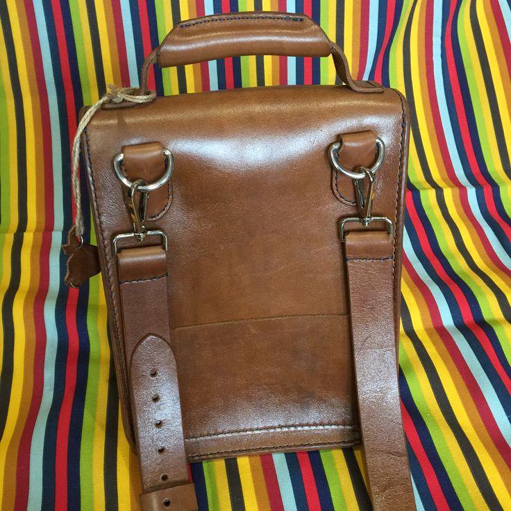 Мужская сумка - планшет , ручная работа .