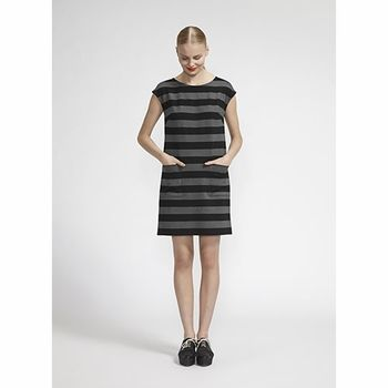 These classic statement stripes will never go out of style. Marimekko Lispetti Grey/Black Dress - $278