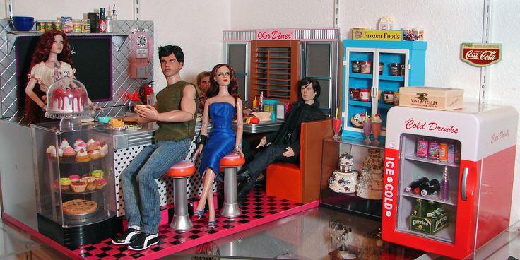 74 Best Box Amp Diorama Restaurant Cafe Etc Images On
