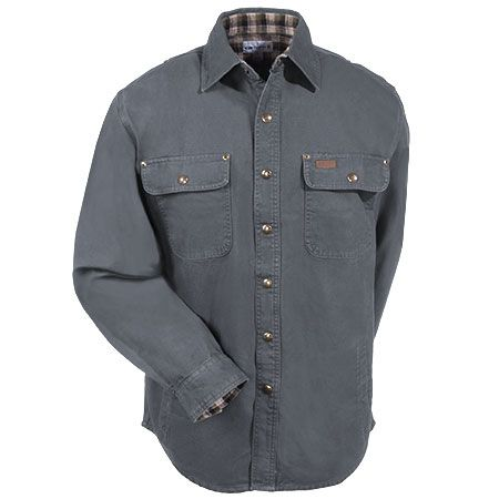 Carhartt Clothing Men's 100590 039 Cotton Canvas Lined Shirt Jacket