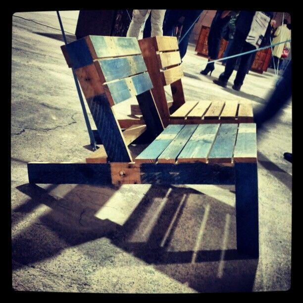 Porta Venezia in Design - wood bench - #MilanDesignWeek