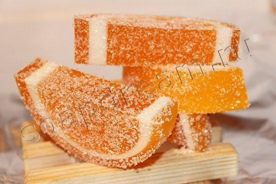 МК Апельсиновые дольки | Мыловарение мастер-классы