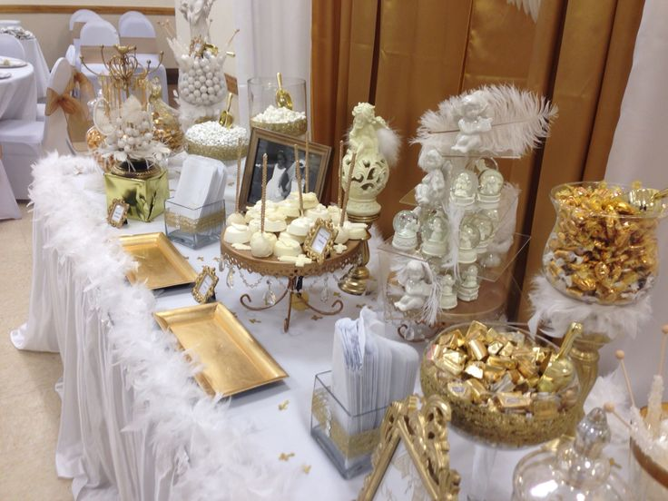 1000 images about carly first communion on pinterest - Decoration table de communion ...