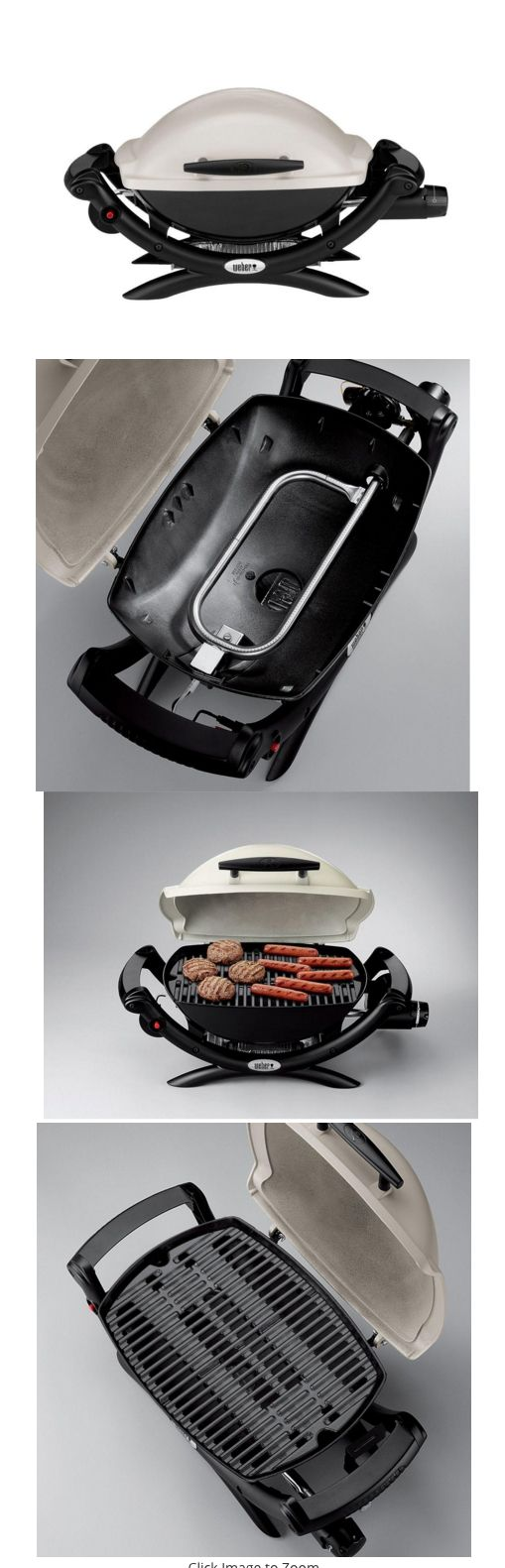 Camping BBQs and Grills 181388: Camping Gas Grill Portable Weber Propane Q 1000 Burner Stove Cast Iron 8500 Btu -> BUY IT NOW ONLY: $236.66 on eBay!