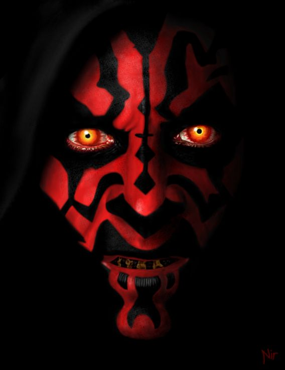 Top 10 Favorite Villains (no particular order): Darth Maul He may have only been in one movie and not in much of the books but just look at him even though he wasn't there for long and he really didn't talk, there isn't a way not to love Darth Maul, seriously just look at him!