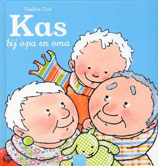 Ik en mijn familie - Boeken/versjes - UK&Puk. Voorleesboek Kas bij opa en oma