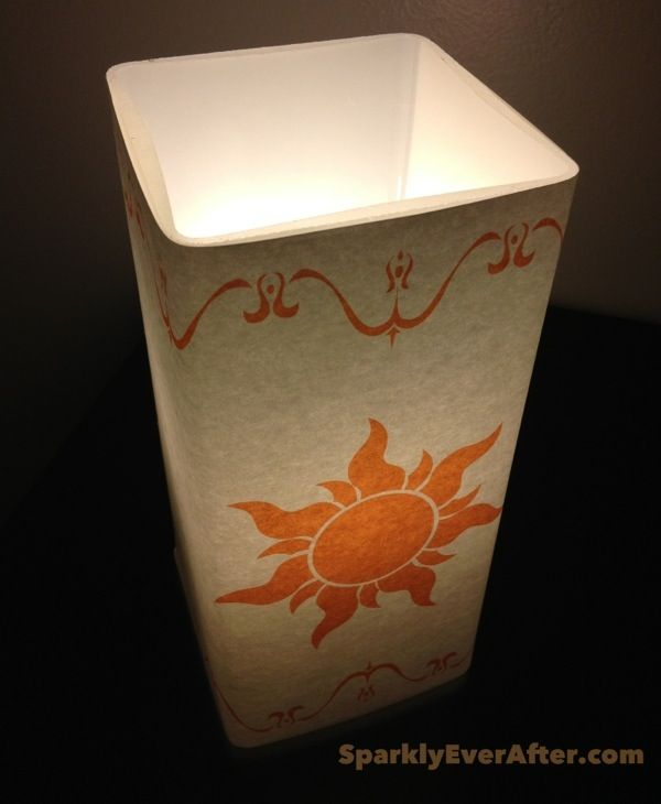 DIY Tangled lantern