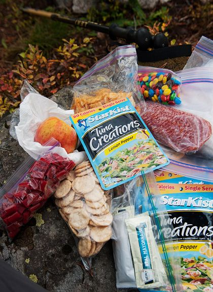 backpacking food - no cooking