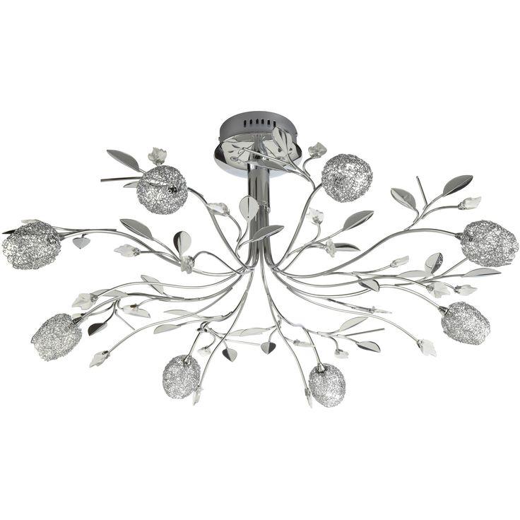 lustre adriana chrom d coration eclairage luminaire