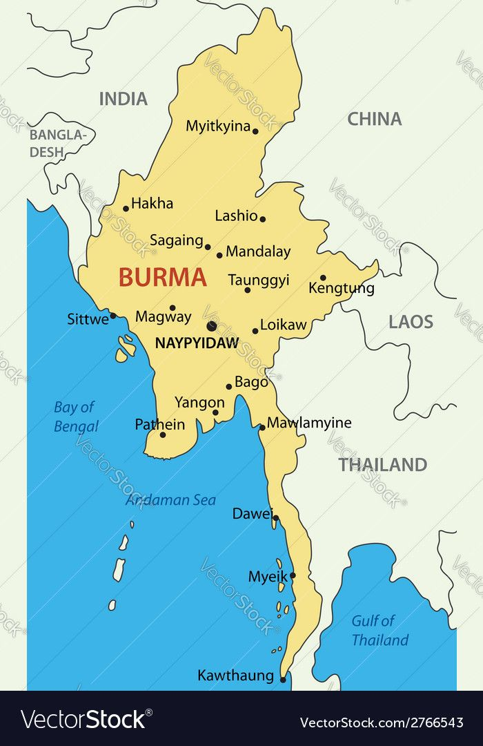 Pin by Kyaw Thu on Sketch | Map, Map vector, Sittwe Map Desh on