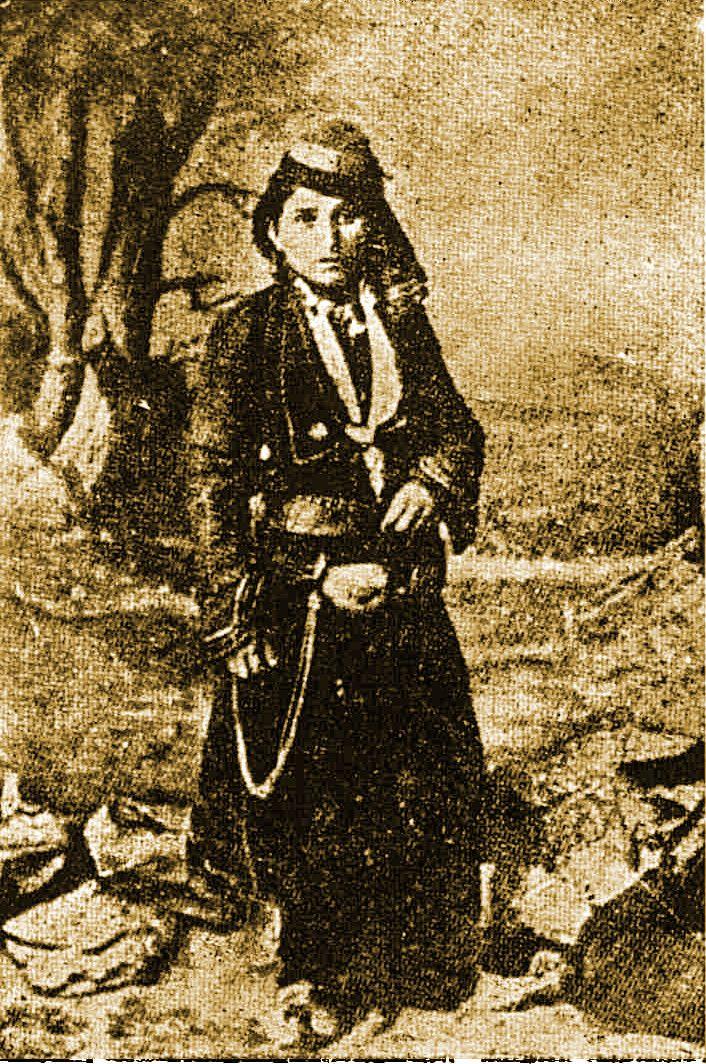 Αρβανιτόβλαχα - Μουζακιάρα, Κεντρική Αλβανία τέλη 19ου αιώνα, Tache Papahagi