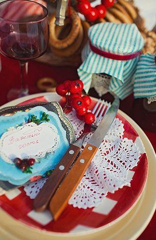 #Русская зимняя_свадьба - совершенство в декоре