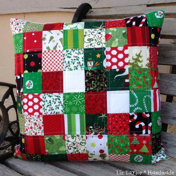 46 best Christmas Quilt Ideas images on Pinterest | Candies ... : handmade christmas quilts - Adamdwight.com