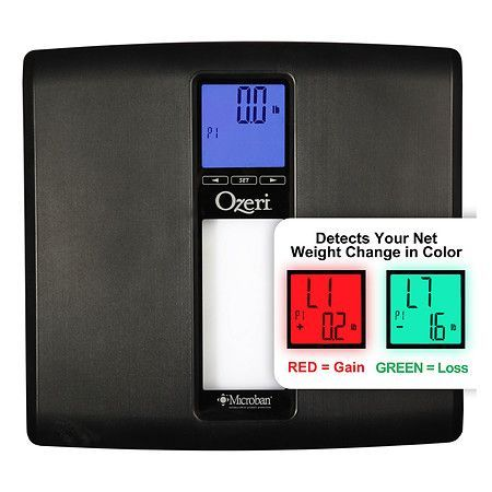Ozeri WeightMaster II Digital Bath Scale with BMI & Weight Change Detection up to 440 lbs - 1 ea