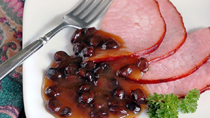Easy Raisin Sauce for Ham