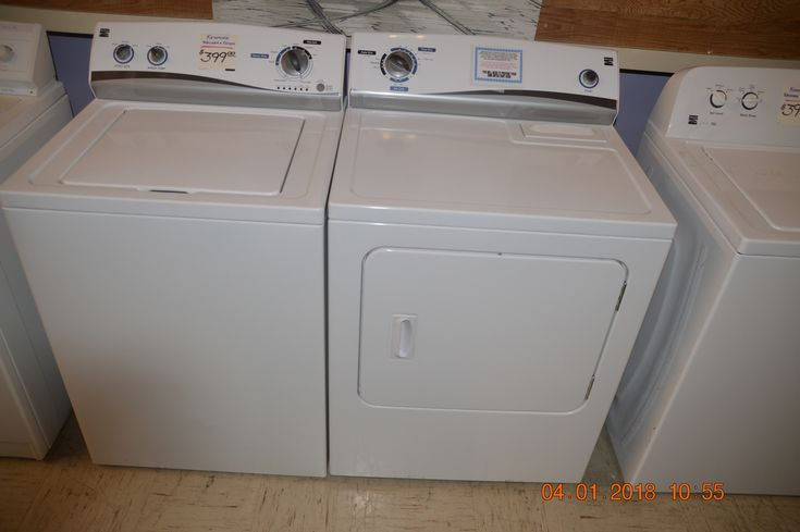 Newer Kenmore Washer & Dryer w warranty