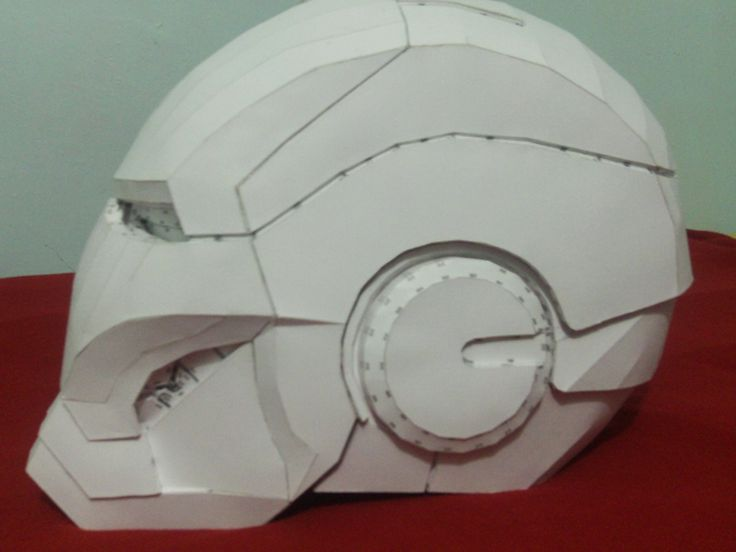 Mi Casco de Iron Man Mark VI Propio - Taringa!