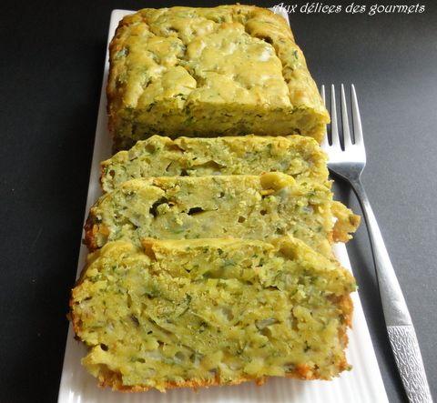 cake aux courgettes et huile d'olive