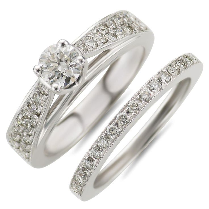 Beautiful Solitaire Engagement Ring Diamond Wedding Band Cheap Wedding RingsCheap