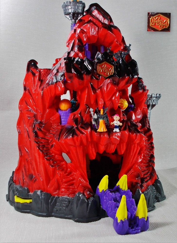 Mighty Max - Trapped In Skull Mountain - Large Playset - Bluebird Toys 1992 14