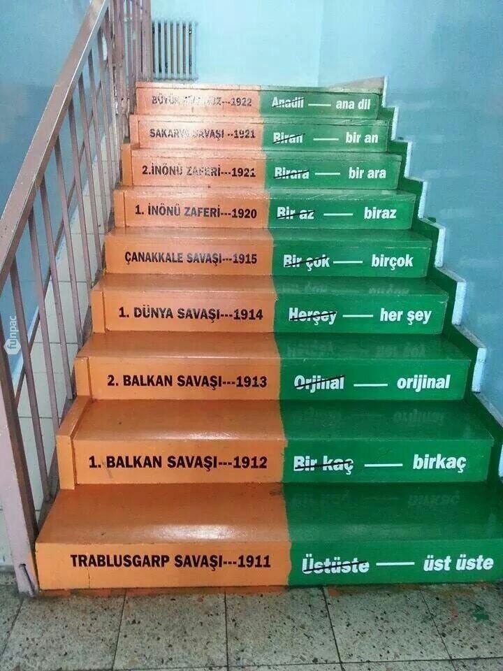 Ne güzel, adım başı eğitim ( Erzurum Mareşal Fevzi Çakmak Ortaokulu )