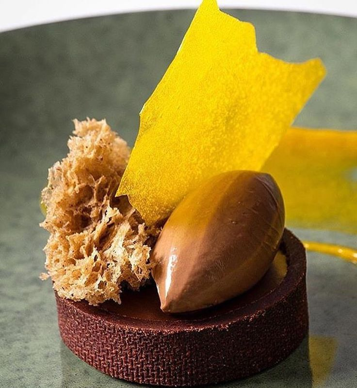 Chocolate Tart. By @bachour1234 #DessertMasters