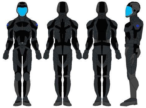 Orbital skydiving suit by bagera3005