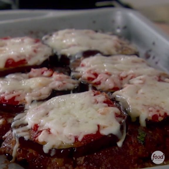 Giada's Eggplant Parmesan Meatloaf combines the best parts of both dishes to create a power combo your family will love!