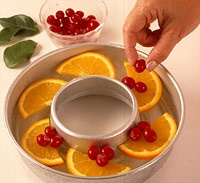 Christmas Punch...love the ice ring idea