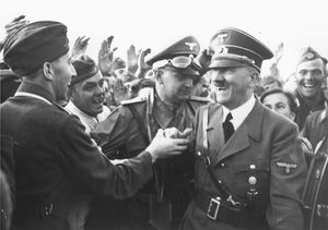 See Images of Adolf Hitler, History's Monster: During World War II